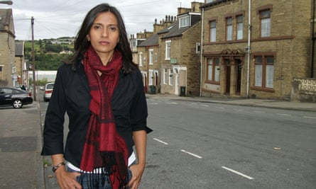 Tazeen Ahmad in her reporting role for Channel 4.
