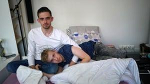 Yann Désaubry, 21 and Alexandre Désaubry, 2.