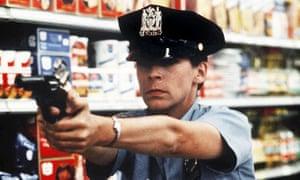 Jamie Lee Curtis in Blue Steel.