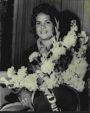 At the age of 19, Goolagong won the French Open singles title.Goolagong arriving at Mascot International Airport after her French Open win on 22 August, 1971.