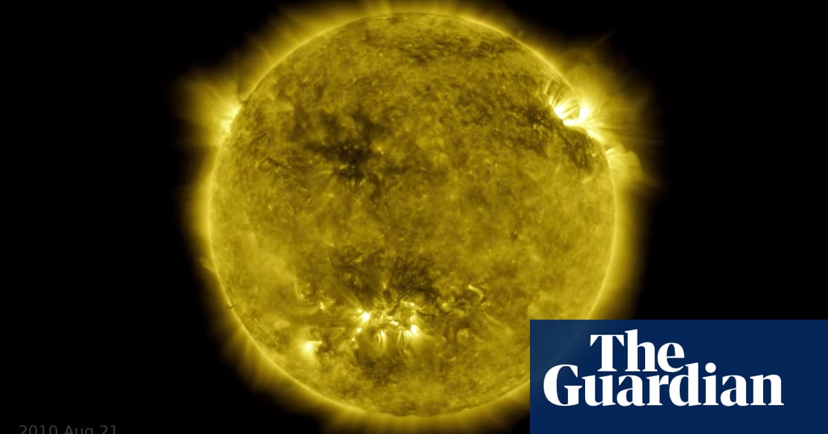 Ten years of the sun in one hour – Nasa releases mesmerising space film – The Guardian