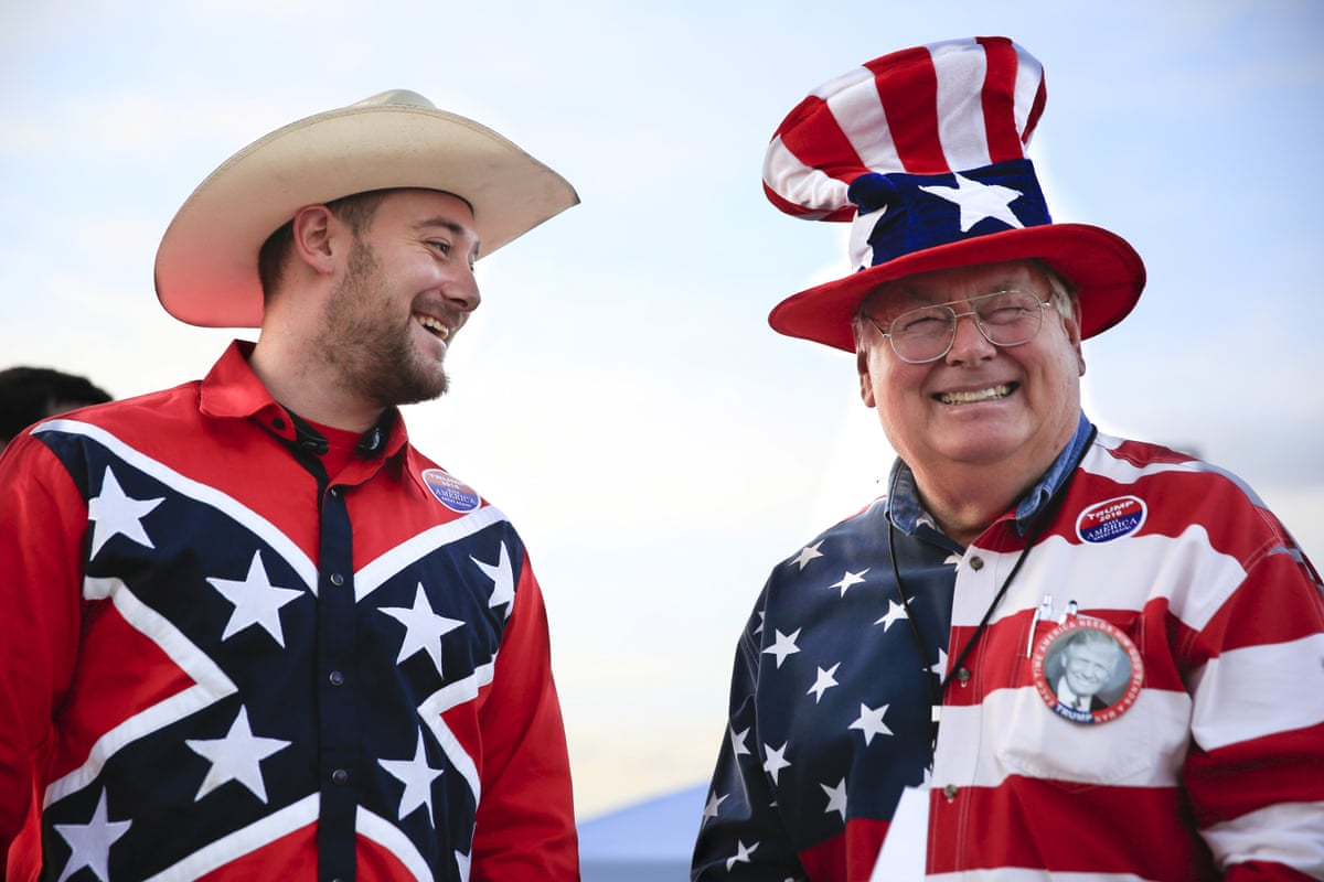 Donald Trump S Most Enthusiastic Supporters In Pictures Us News The Guardian