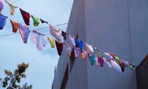Washing line art