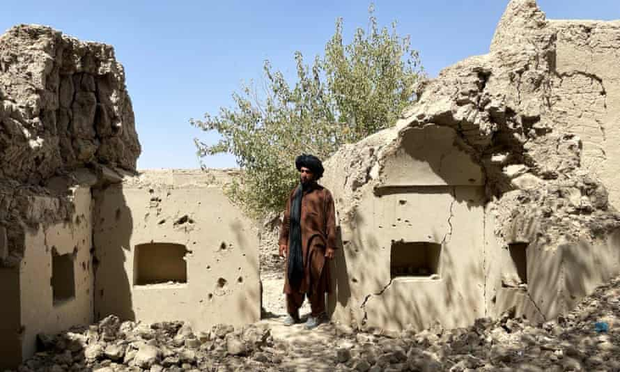 Ruins of a house in Musa Qala