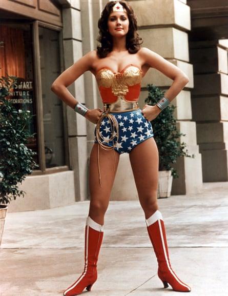 Lynda Carter, Wonder Woman in the 1970's US TV series.