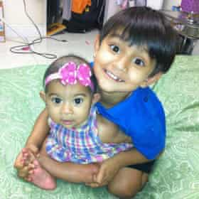 Zahra and Yusuf Shikder