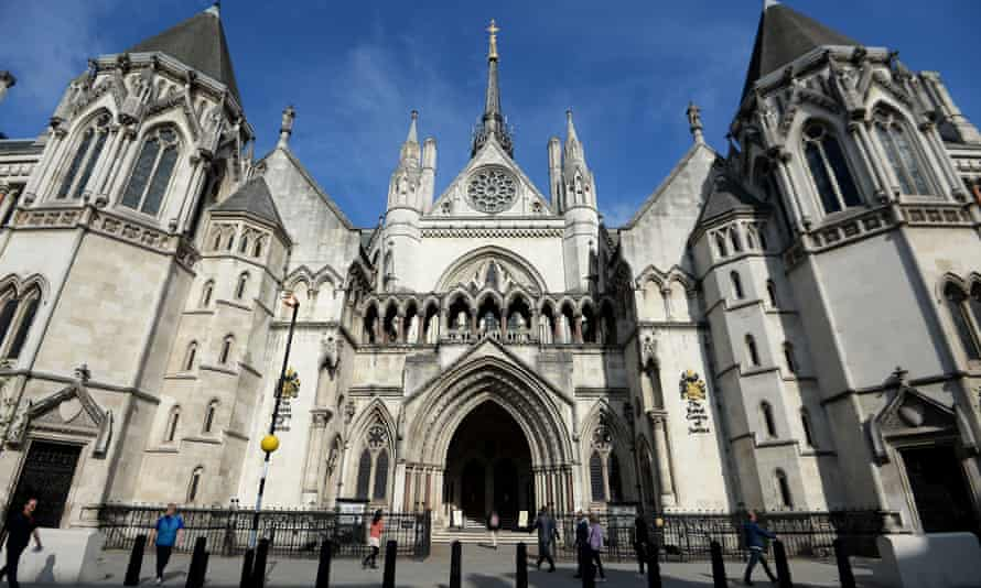 Royal Courts of Justice building
