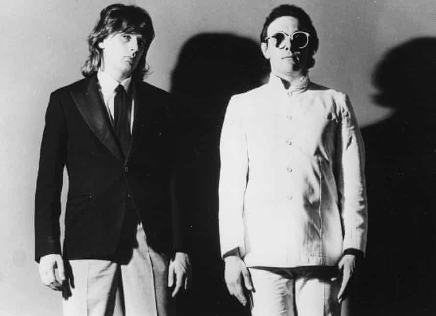 Duo Geoff Downes and Trevor Horn of the Buggles.