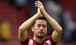 Maya Yoshida has committed 1% of his salary to the club's charity partner