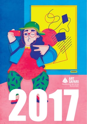 Art Safari 2017 by Andreea Dobrin DinuCategory Winner: Advertising New TalentWinners are on show at Somerset House running from 7 – 20 June 2018.