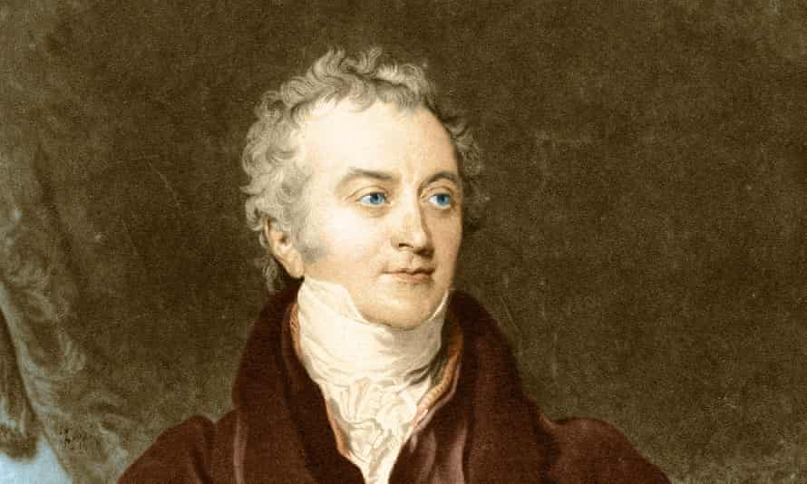painted portrait of Thomas Young