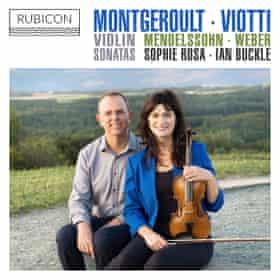 Violin Sonatas: Montgeroult, Viotti, Mendelssohn and Weber by Rosa/Buckle album cover