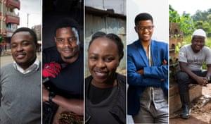 Collince Oluoch; Roy Allela; Beth Koiji; Neo Hutiri; Paul Matovu