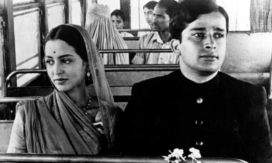 Leela Naidu and Shashi Kapoor in The Householder (1963).