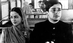 Shashi Kapoor and Leela Naidu in The Householder, 1963.