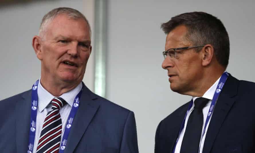 Greg Clarke and Martin Glenn.