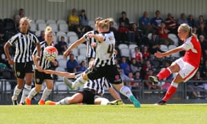 Arsenal Ladies take on Notts County in July, but the summer season the WSL has used since its inception in 2011 will now be shelved.