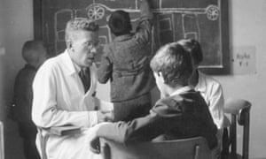 Hans Asperger at the University Paediatric Clinic, Vienna, circa 1940.