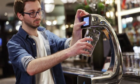 Pull a fast one: London bar installs world's first tap-and-pay beer pump
