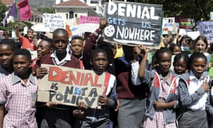 Students in Cape Town, South Africa.