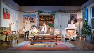 Claire Skinner, Toby Stephens and Storme Toolis in A Day in the Death of Joe Egg.