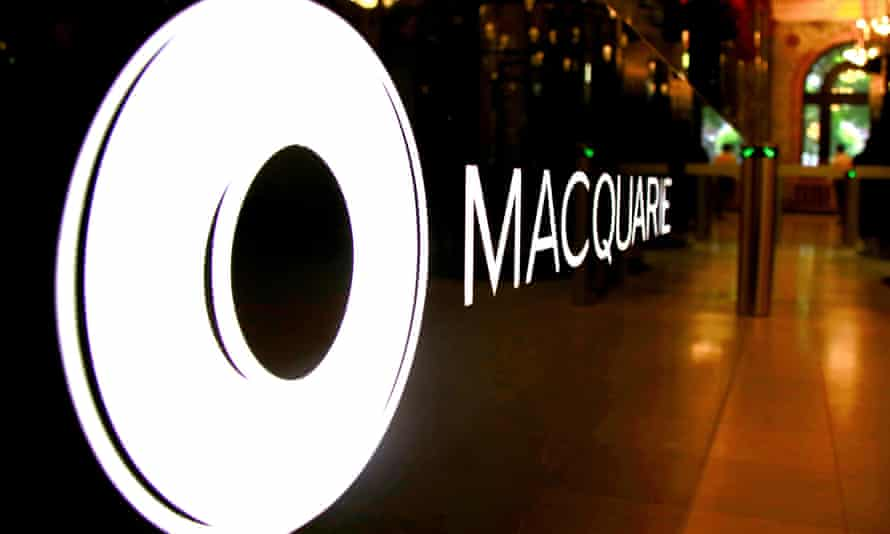 Headquarters of  Australia's Macquarie Group in Sydney.