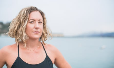 Kim Chambers, a marathon swimmer in San Francisco, became the first woman to swim from the Farallon Islands back under the Golden Gate Bridge in 2015.