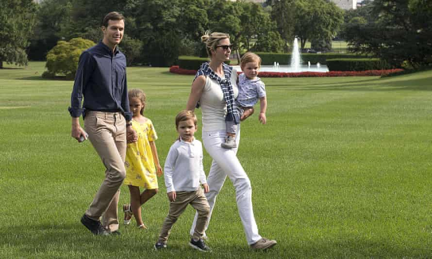 ivanka trump and family