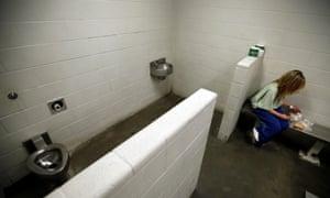 woman prison cell