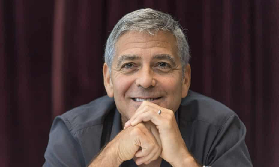 George Clooney to the Parkland students: 'Amal and I are 100% behind you and will be marching in DC'.