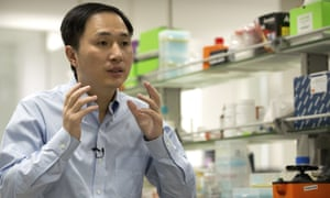 He Jiankui claimed last year that he helped to create world's first genetically edited babies