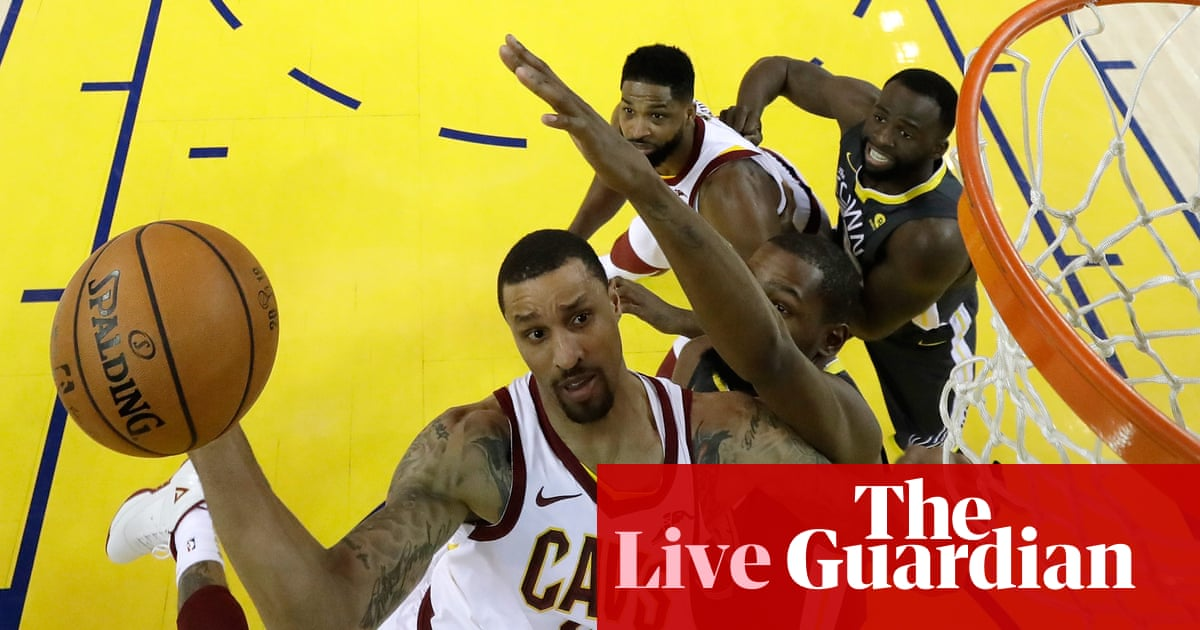 f821f74e7eca Golden State Warriors 122-103 Cleveland Cavaliers  NBA finals Game 2 – as  it happened