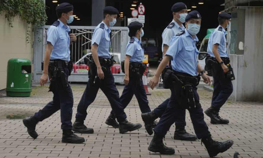 Patrulla policial Victoria Park, Hong Kong