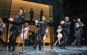 Rags to riches, and back … hit musical Jersey Boys.