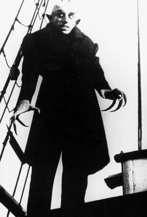 Max Shreck starred in FW Murnau's Nosferatu, 1922