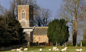 Holy Trinity church in Over Worton, Oxfordshire, where Newman delivered his first sermon.