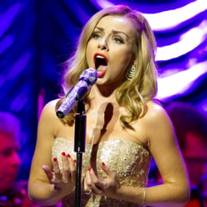 Katherine Jenkins, one of the singers who features on the Classic FM playlist