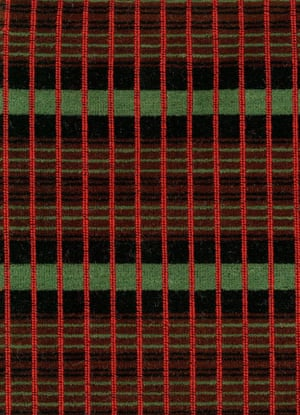Sample of moquette as used on the refurbished RT-type buses, 1947-1979