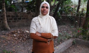 Jamida Beevi at her rented home home in Kozhikode.