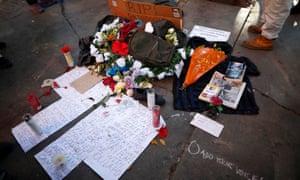 Homeless man shot dead by LAPD had a secret past, like