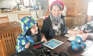 In a dedicated kids' track at Buzzconf, children are invited to make their own games