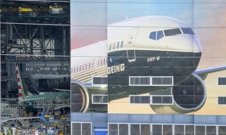 Boeing's factory in Renton, Washington