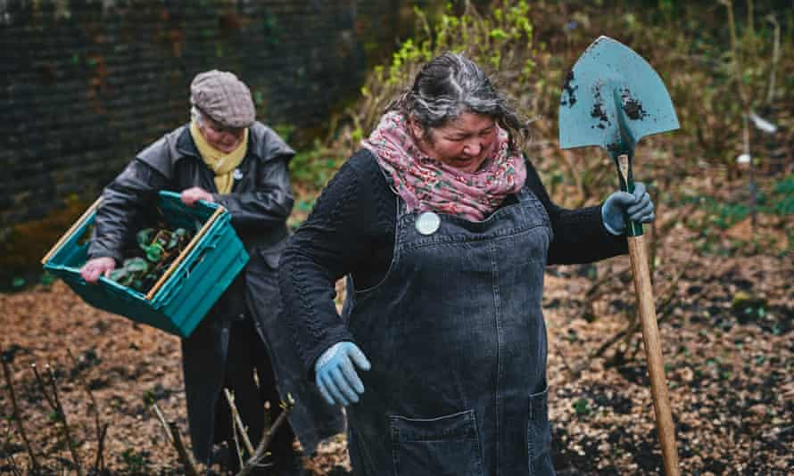 Estelle Brown (left) and Mary Clear (right), founder members of the Incredible Edible Todmorden