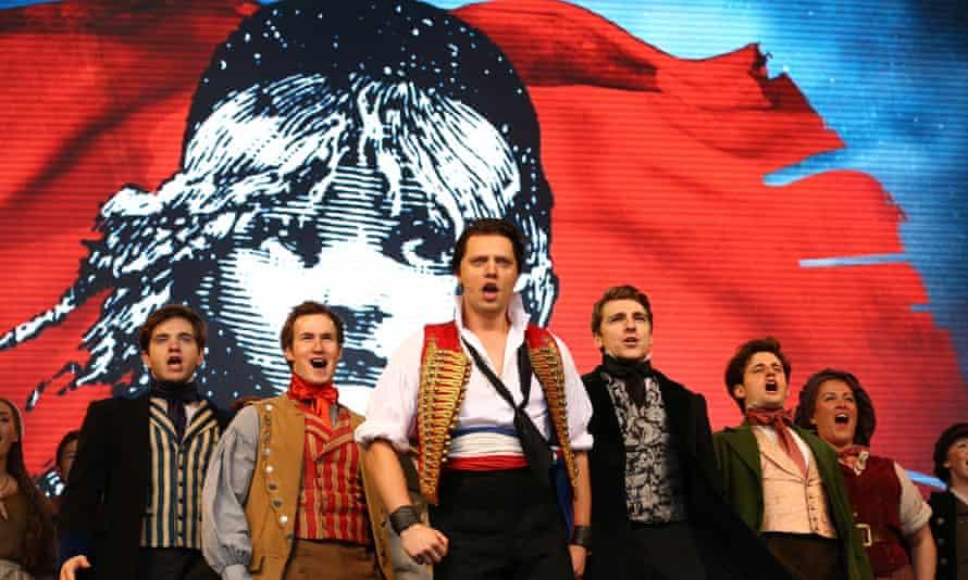 The 2016 West End production of Les Misérables.
