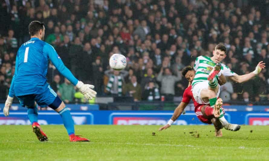 Ryan Christie's goal just before half-time earned Celtic the trophy.