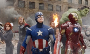 Earth's mightiest heroes … the Avengers.