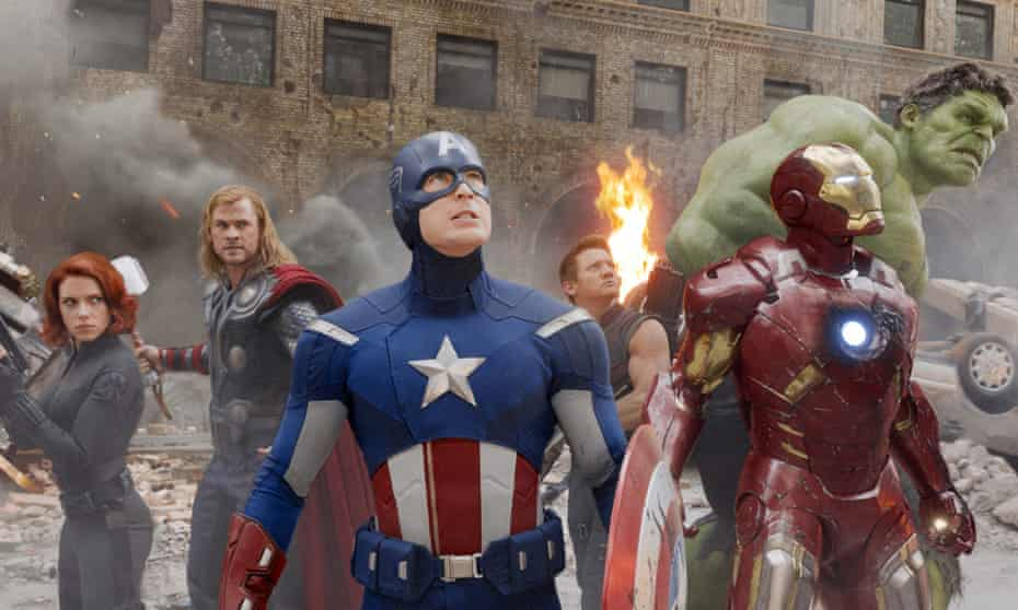 Captain America lives on … The Avengers (2012)
