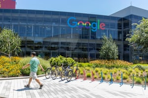 The Google campus in Mountain View, California. The company has been sued for using overly broad confidentiality agreements and getting employees to spy on each other.
