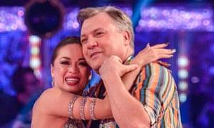 Katya Jones and Ed Balls on Strictly