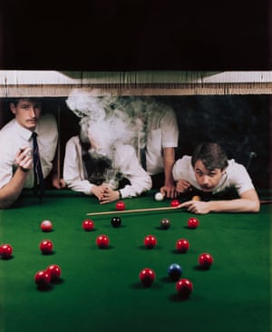 Managers of the Hatton Garden Snooker Parlour